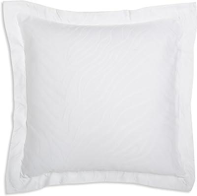 Amazon Com European Square Pillow Shams Set Of 2 White 600 Thread Count 100 Natural Cotton Pack Of Two Euro 26 X 26 Pillow Shams Cushion Cover Cases Super Soft Decorative White European