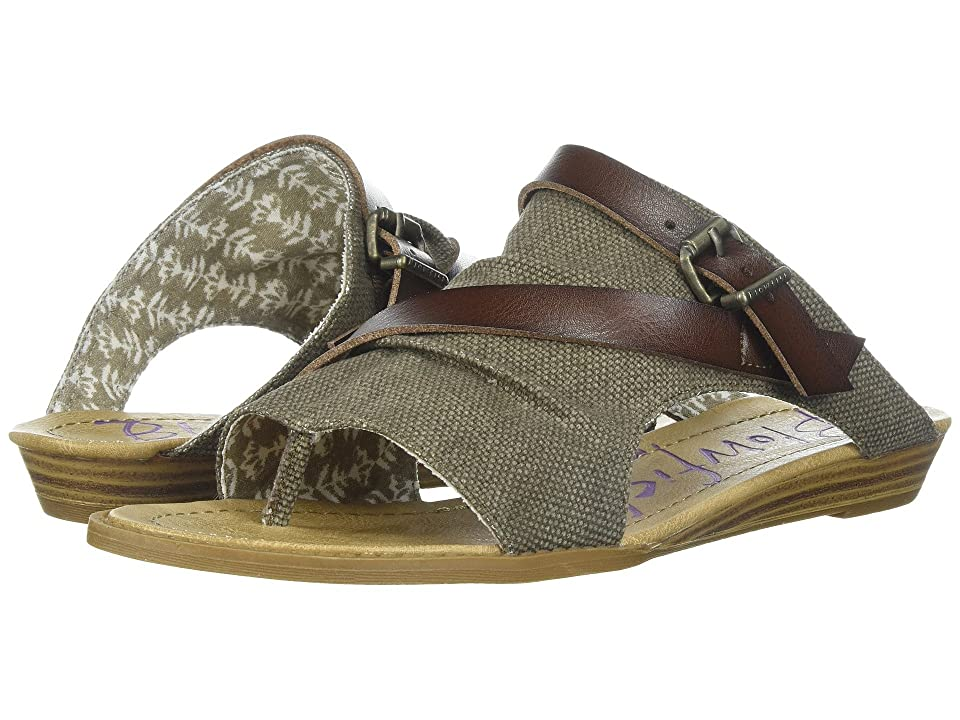 Blowfish Barria (Brown Rancher Canvas/Whiskey Dyecut PU) Women