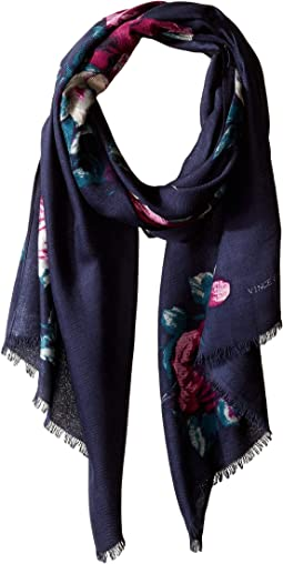 Rose Mantel Pashmina Wrap