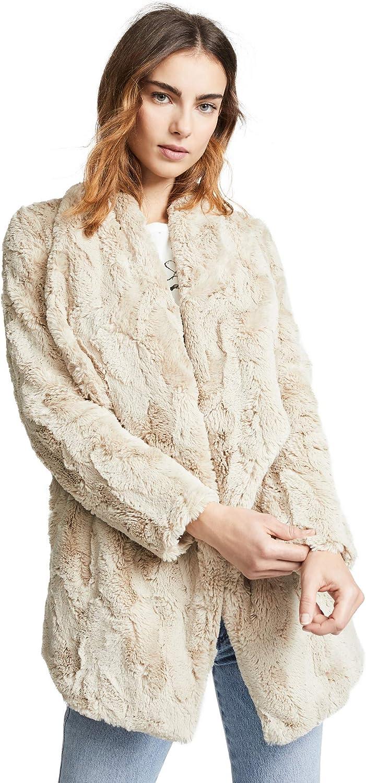 JACK Women's Warm Thoughts Soft Wubby Drape Front Jacket
