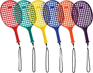 "EVERRICH Pickleball Paddles - Set of 6, 14"" Long, with Lanyard"