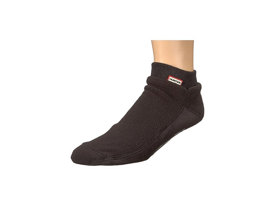 Hunter Original Ankle Boot Sock Fitted Fleece (Black) Knee High Socks Shoes