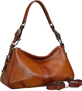 Women's Leather Shoulder Handbags HESHE Tote Bag Top Handle Bag Ladies Designer Purses Satchel Cross-body Handbag