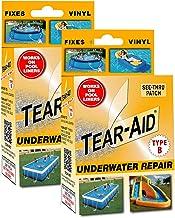 Tear-Aid Vinyl Onderwater Reparatie Kit, Oranje Doos Type B (2 Pack)