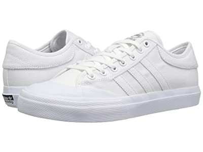 adidas Skateboarding Matchcourt (White/White/White) Skate Shoes