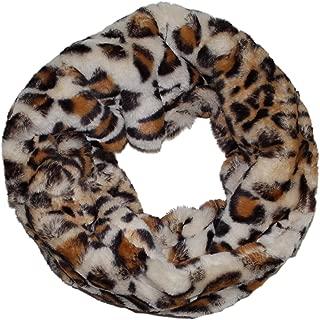 Ted & Jack - Faux Fur Animal Print Infinity Scarf