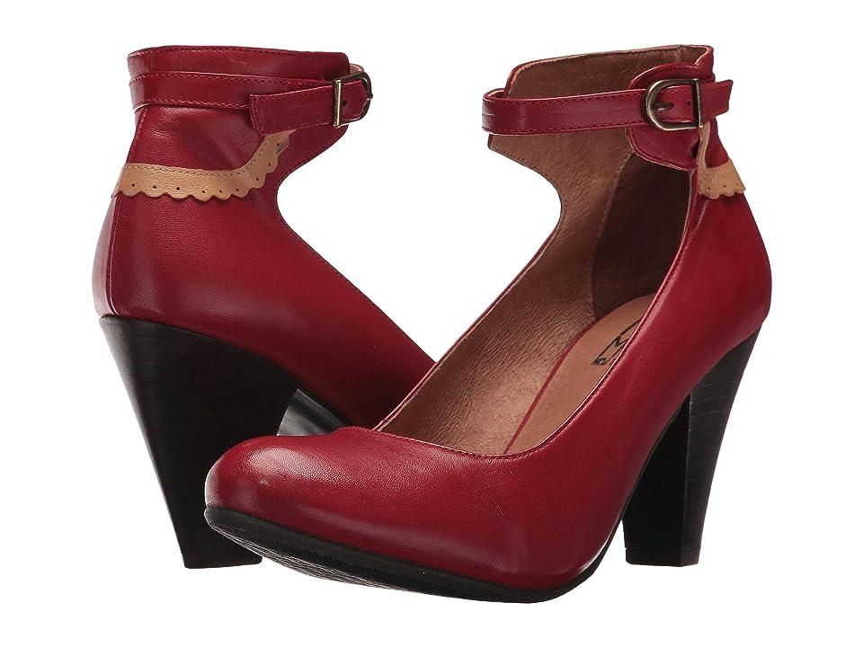 Miz Mooz Cabriole (Red) High Heels