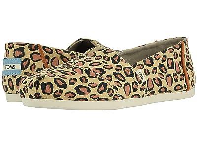 TOMS Alpargata 3.0 (Desert Tan Leopard Printed Microfiber) Women