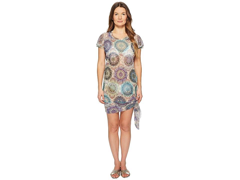 FUZZI T-Shirt Dress Cover-Up (Quarzo) Women