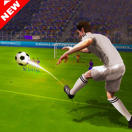 Real Football Flick Shoot Soccer Championship 2018