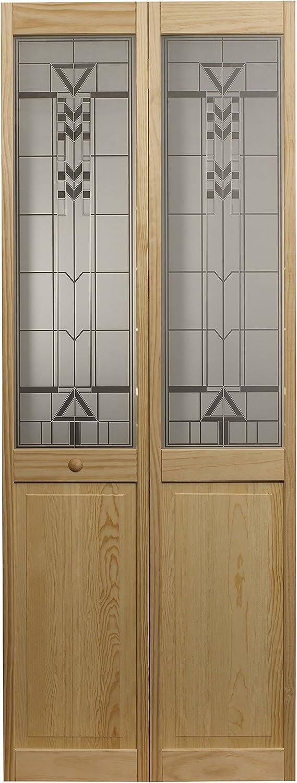 LTL Home Products 814730 Sedona favorite Solid Max 88% OFF Half Interior Bifold Glass