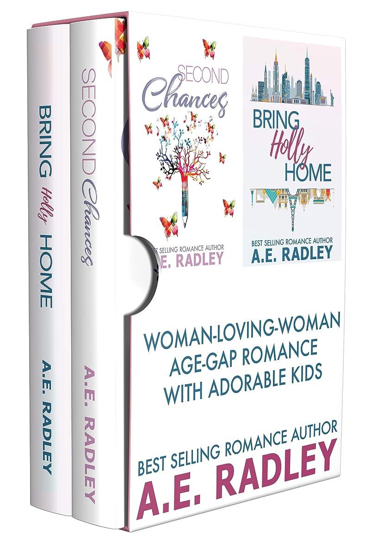 近似コミット建設WLW Age-Gap Romance with Adorable Kids Box Set: Lesbian Romance (English Edition)