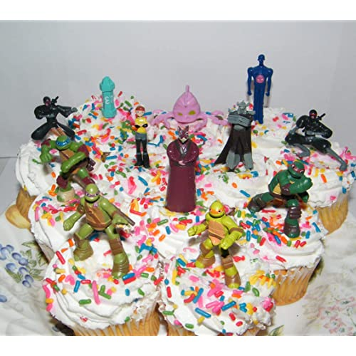 Stupendous Ninja Turtles Cake Amazon Com Funny Birthday Cards Online Fluifree Goldxyz
