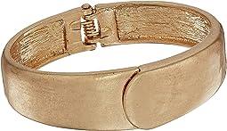 Small Overlap Hinged Bangle Bracelet