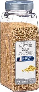 McCormick Culinary Whole Yellow Mustard Seed, 22 oz