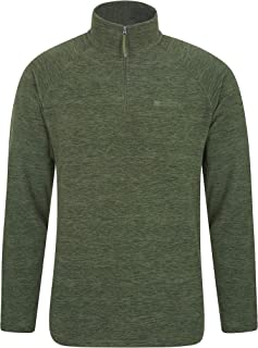 Snowdon Mens Micro Fleece Pullover - for Autumn