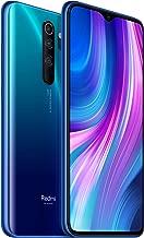 "Xiaomi Redmi Note 8 Pro Smartphone,6GB RAM 64GB ROM Mobilephone,Pantalla Completa de 6.53"",MTK Helio G90T Octa Core,Carga Rápida de 4500 mAh,Quad Cámara,Versión Garantía Española Oficial, Azul"
