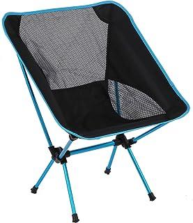 Visstoel, campingstoelen opvouwbaar lichtgewicht, camping klapstoel om te vissen BBQ buiten kamperen