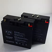 SPS Brand 12V 35Ah SLA Replacement Battery for Merits Health Products Vision Sport P326A Wheelchair U1 2 Pack