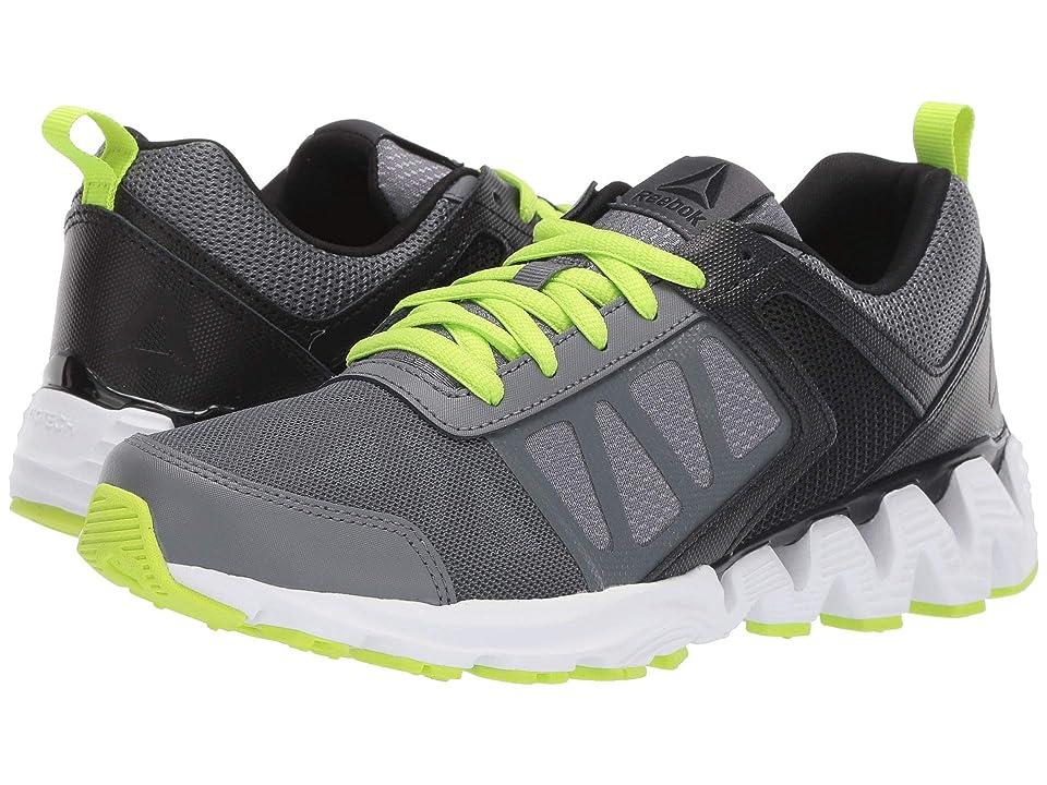 Reebok Kids ZigKick 2K18 (Big Kid) (Alloy/Black/Lime) Boys Shoes