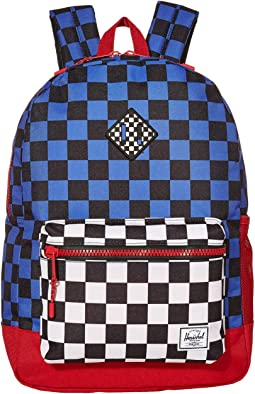 Multi Check Amparo Blue/Red/Black White Checker