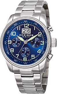 Explorer Mens Casual Watch AK862 - Sunray Dial - Japanese Quartz - Stainless Steel Strap
