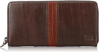 [リー] 長財布 高級イタリアンレザー(染料手塗り加工) ラウンドファスナー