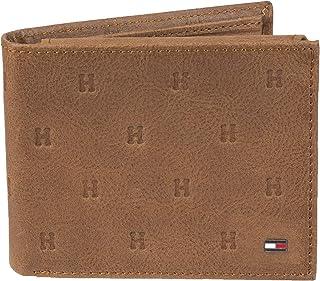 Tommy Hilfiger Men's RFID Blocking 100% Leather Passcase Wallet