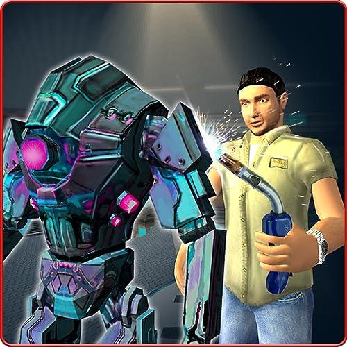 Robot Mechanic Simulator 3D