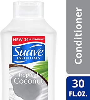 Suave Essentials Conditioner, Tropical Coconut, 30 oz (Pack of 6)