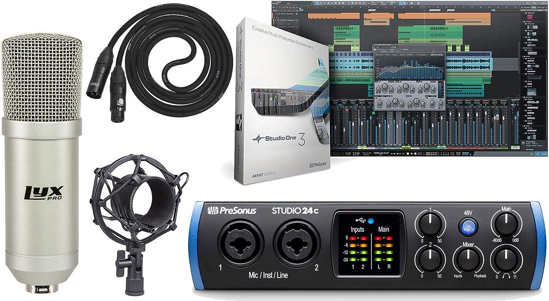 PreSonus Max 63% OFF Studio Now on sale 24c 2x2 USB Type-C Audio Stud MIDI Interface and