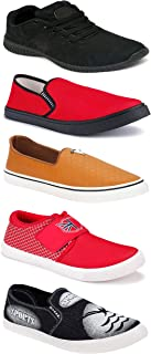 WORLD WEAR FOOTWEAR Sports Running Shoes/Casual/Sneakers/Loafers Shoes for Men Multicolor (Combo-(5)-1219-1221-1140-691-772)