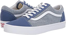 81e567acaab810 (Chambray) Canvas True Navy True White. 17. Vans