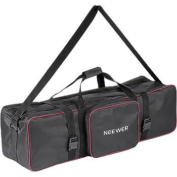 Lightweight Dual Zippers 30 x 8 x 6 1x Photography /& Video Lighting Equipment Carrying Case - Fovitec Heavy Duty Durable Nylon