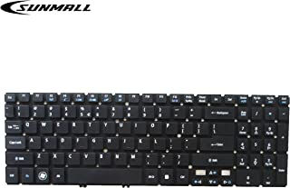 SUNMALL Keyboard Replacement Without Frame Compatible with Acer Aspire V5 V5-531 V5-531G V5-531P V5-531PG V5-551 V5-551G V5-571 V5-571P V5-571G V5-571PG M5-581G Series Laptop Black US Layout
