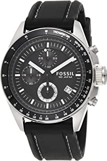 Fossil Men's Decker Quartz Stainless Steel Chronograph Watch