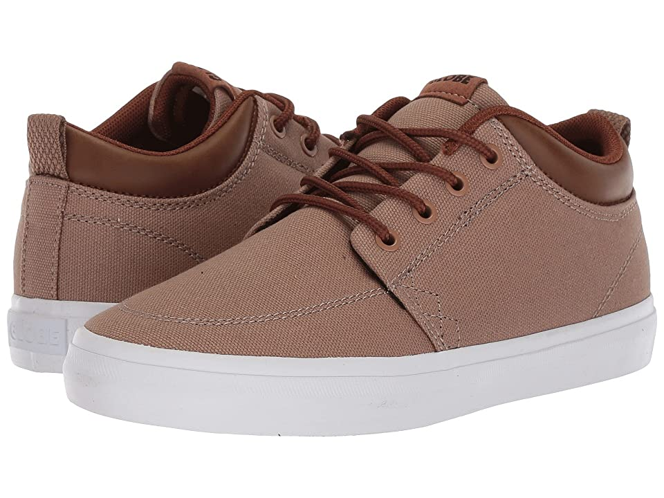 Globe GS Chukka (Little Kids/Big Kids) (Woodsmoke Brown) Men