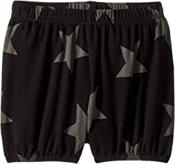Nununu - Star Yoga Shorts (Infant/Toddler/Little Kids)