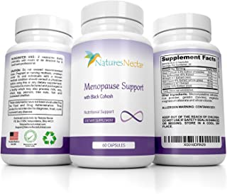 Menopause Relief Supplement for Hot Flash Relief in Women - Maximum Menapausal Hormone Balance Against Hot Flashes - Night Sweats Relief - Estrogen Menopause supplements + Natural Weight Loss Capsules