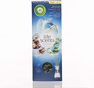 Air Wick Life Scents Reed Diffuser Turquoise Oasis Multi-Layered Air Freshener, 30ml