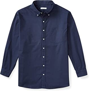 Men's Big & Tall Long-Sleeve Pocket Oxford Shirt fit by DXL