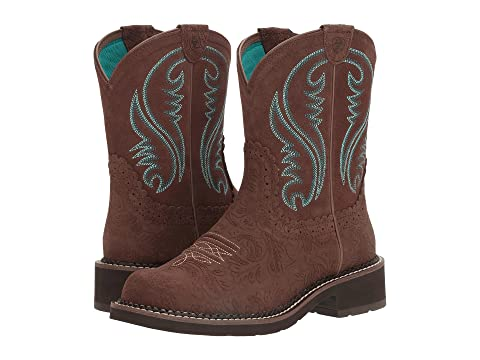 Shimmer Carbon Brown Brown Brown TurquoiseToasted Ariat CreamDistressed Old FudgeDistressed Black Heritage GloryTooled Fatbaby Brown Brown 8OtfA