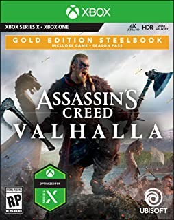Assassin's Creed Valhalla Gold Steelbook Edition - Xbox One