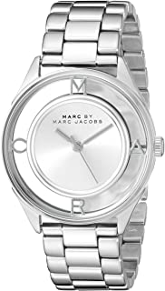 Marc by Marc Jacobs Women's MBM3412 Tether Analog Display Analog Quartz Silver-Tone Watch