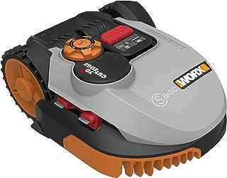 Worx Landroid S-Basic Robotmaaier in grijs, automatische grasmaaier voor maximaal 300 m² met AIA-technologie voor nauwkeur...