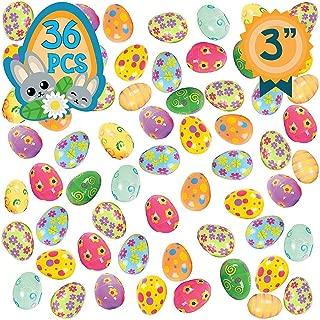 Totem World 36 Fillable Plastic Easter Egg Hunt Party Supply Pack - 3