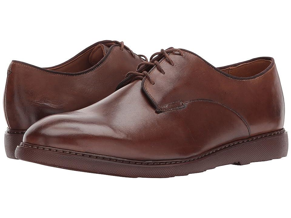 Bostonian Cahal Plain (Dark Tan Leather) Men