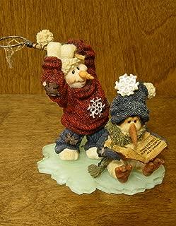 Boyds Bears Resin KETCHUM B QUICK GOT ONE 36509 RFB Winter Snowman Folkstone New