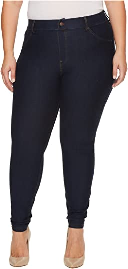 Plus Size Essential Denim Leggings