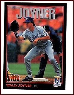 Wally Joyner KANSAS CITY ROYALS 1993 Donruss Triple Play #153